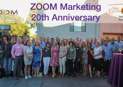 Zoom Marketing 20th Anniversary