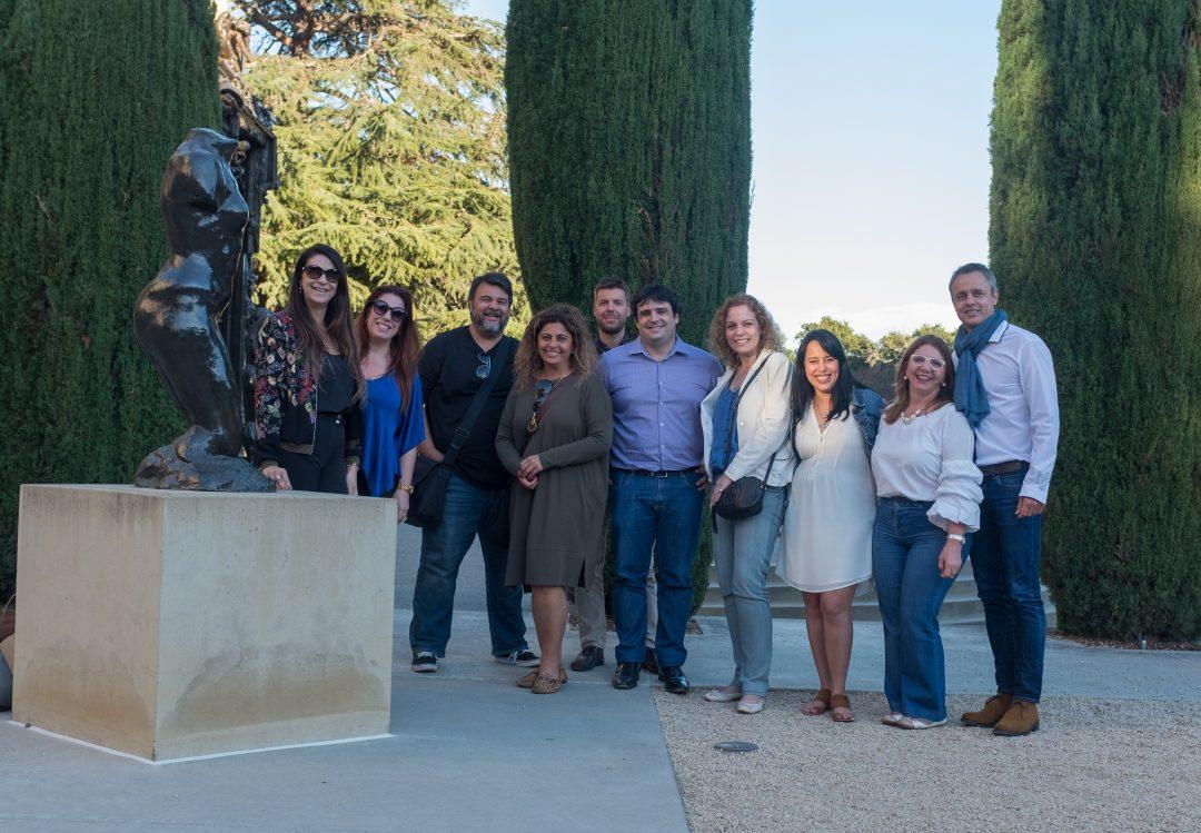 Meeting Brazilian Entrepreneurs at Stanford