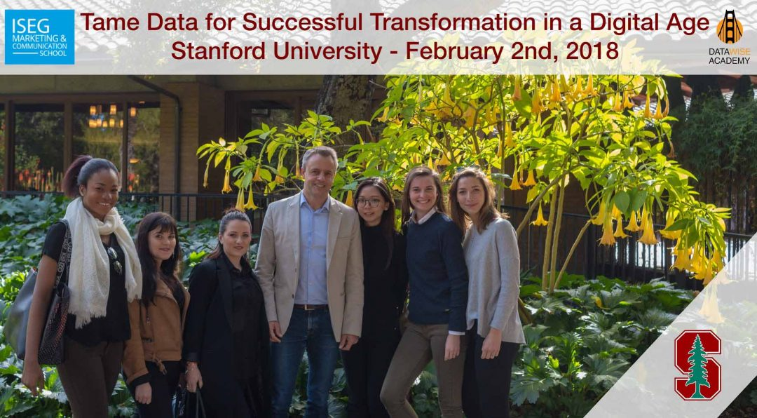 ISEG Visits Stanford for Data Marketing Class