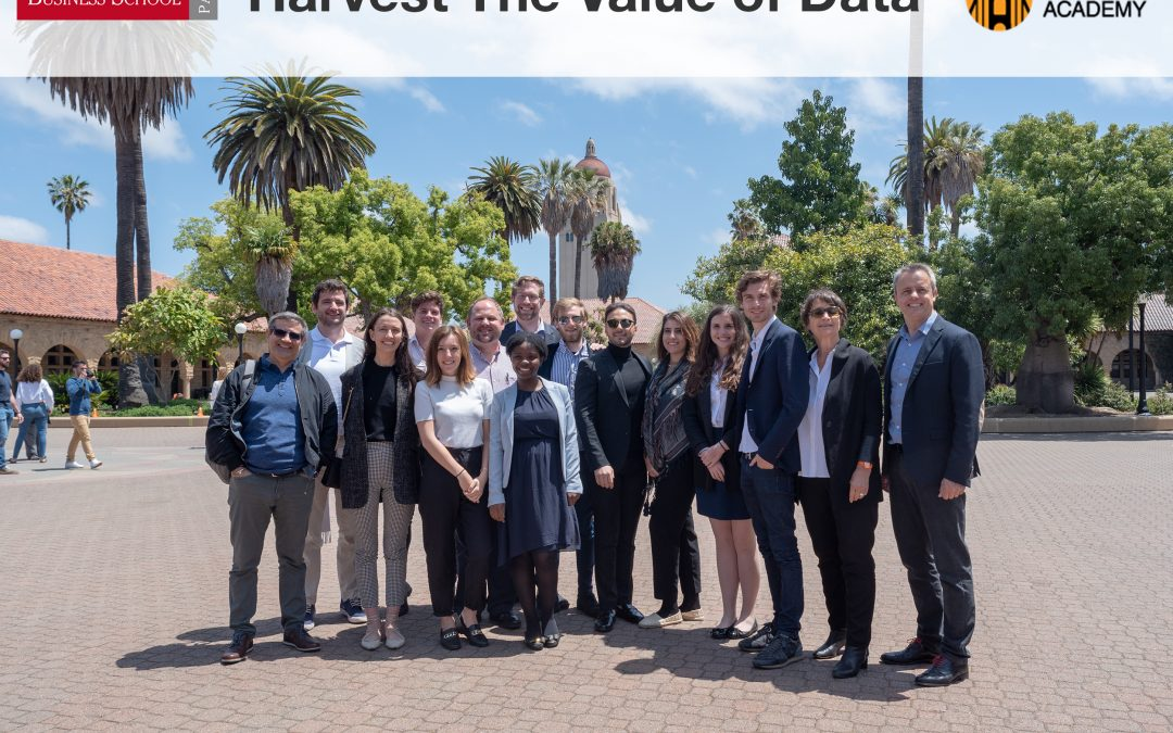 American Business School Students Visit Stanford