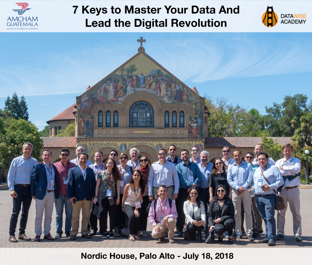 AMCHAM Guatemala visits the Nordic House in Palo Alto for a Digital Transformation session with Data Wise Academy